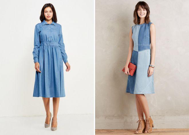 модные летние платья 2018