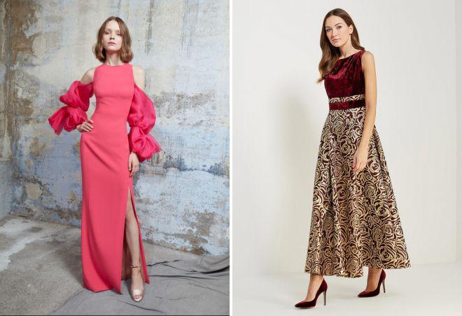 вечерние платья лето 2018