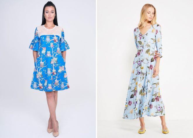 летние платья 2018 года модные тенденции