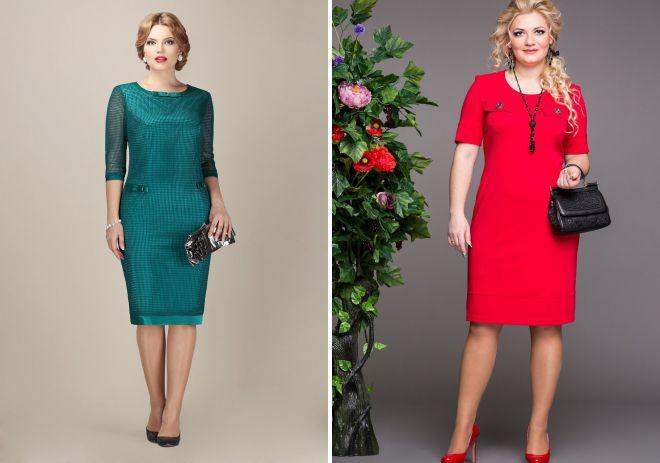 летние платья 2018 для женщин элегантного возраста