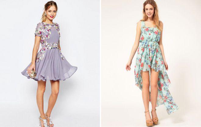 платья лето 2018
