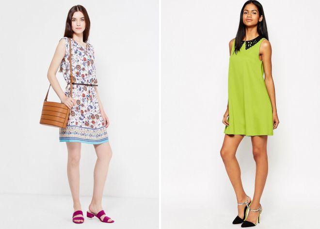 короткие летние платья 2018