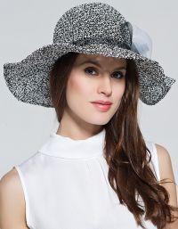Szydełkowe czapki letnie 3