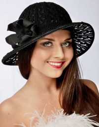 Szydełkowe czapki letnie 5