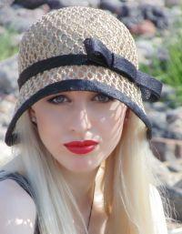Szydełkowane czapki letnie 7