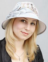 Szydełkowe czapki letnie 9