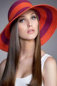 Damskie letnie kapelusze 8