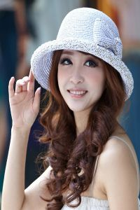 damskie czapki letnie 9