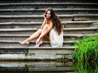 letní fotografický snímek dívky 4