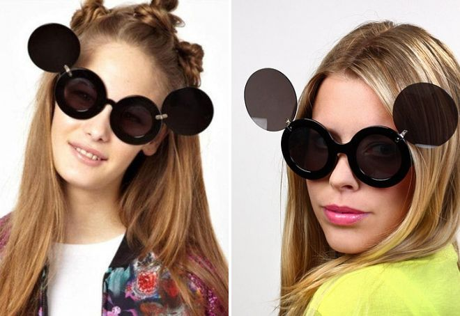 солнцезащитные очки с откидными стеклами