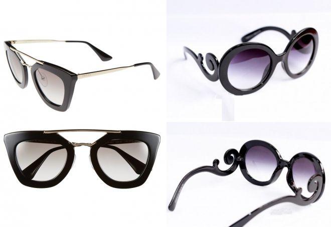 женские солнцезащитные очки Прада