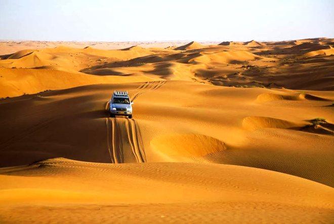 Сафари по пустыне Вахиба
