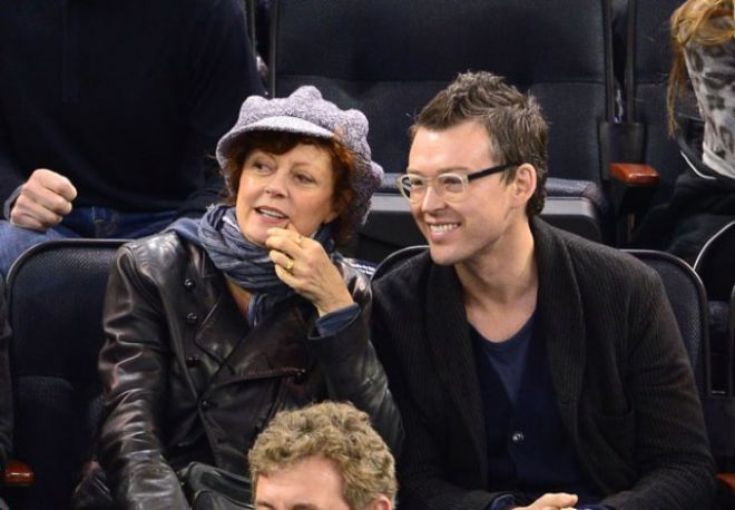 Сьюзан с бывшим возлюбленным Джонатаном Бриклином
