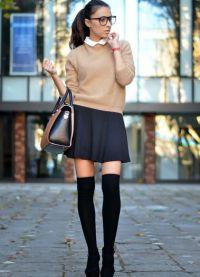 sweter ze spódnicą 6