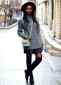 spódnica sweter 8