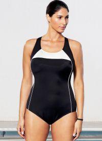 stroje kąpielowe dla otyłych kobiet z dużym biustem 2