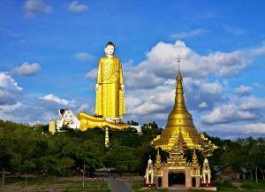Статуя Будды Лаукун Сектуар