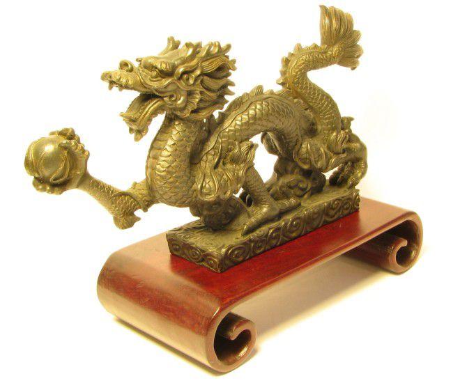 драконът е символ на мъдростта фън шуй