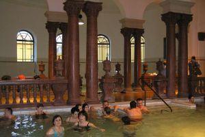 Széchenyi's Baths u Budimpešti2