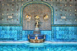 Széchenyi's Baths u Budimpešti3