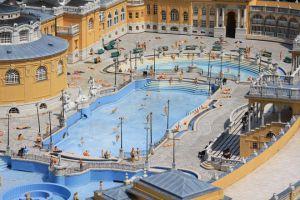 Széchenyi's Baths u Budimpešti4