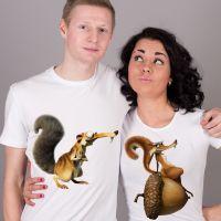 seznanjeni t-shirts mož in žena 19