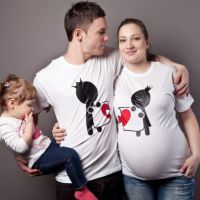 seznanjeni t-majice mož in žena 5