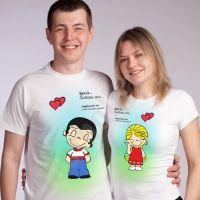 seznanjeni t-shirts mož in žena 6