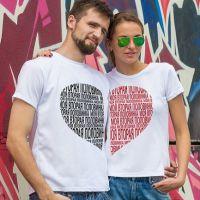 seznanjeni t-shirts mož in žena 16