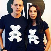 seznanjeni t-shirts mož in žena 17