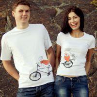 seznanjeni t-shirts mož in žena 18