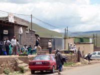 Улица в поселке Таба-Цека