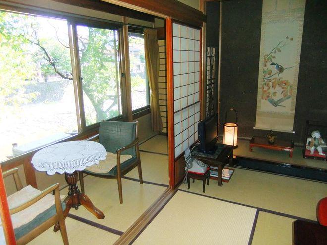 Комната в рекане Sumiyoshi
