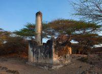 Руины предполагаемой гробницы шейха в городе Таква