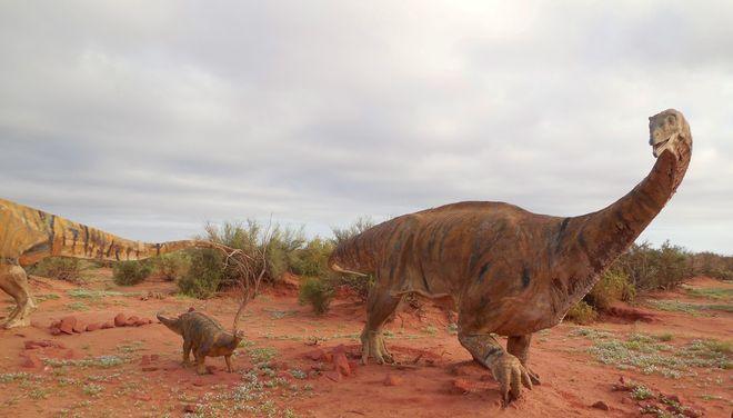 Макет динозавра