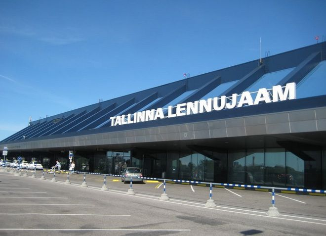 Здание аэропорта Таллина