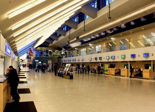 Аэропорт Таллина - внутри