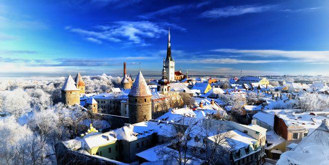 Таллин - зимой