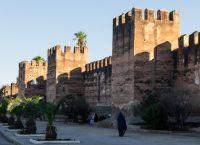 Стены города Тарудант
