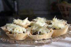 жульен с грибами в тарталетках