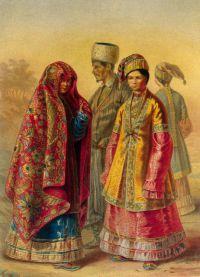 Татарски фолклорен костюм 5