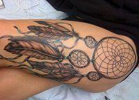 tatuaż łapacz snów na piechotę 4