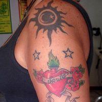 tatuaże na ramieniu 8