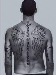 Татуировки на теле футболистов
