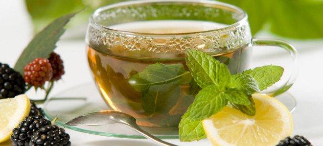 Чај са менте и лимуном - рецепт