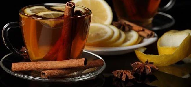 Чај са циметом и лимуном - рецепт