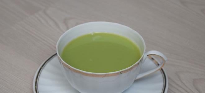 Tajski zeleni mlečni čaj