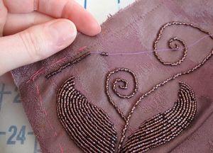 technika haftowania koralików 13