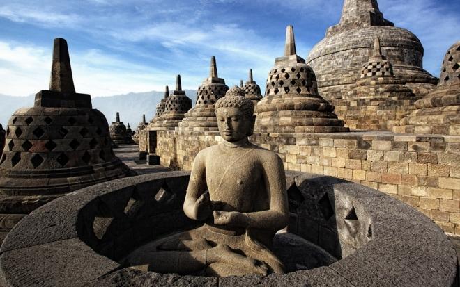 Буддизм Боробудур