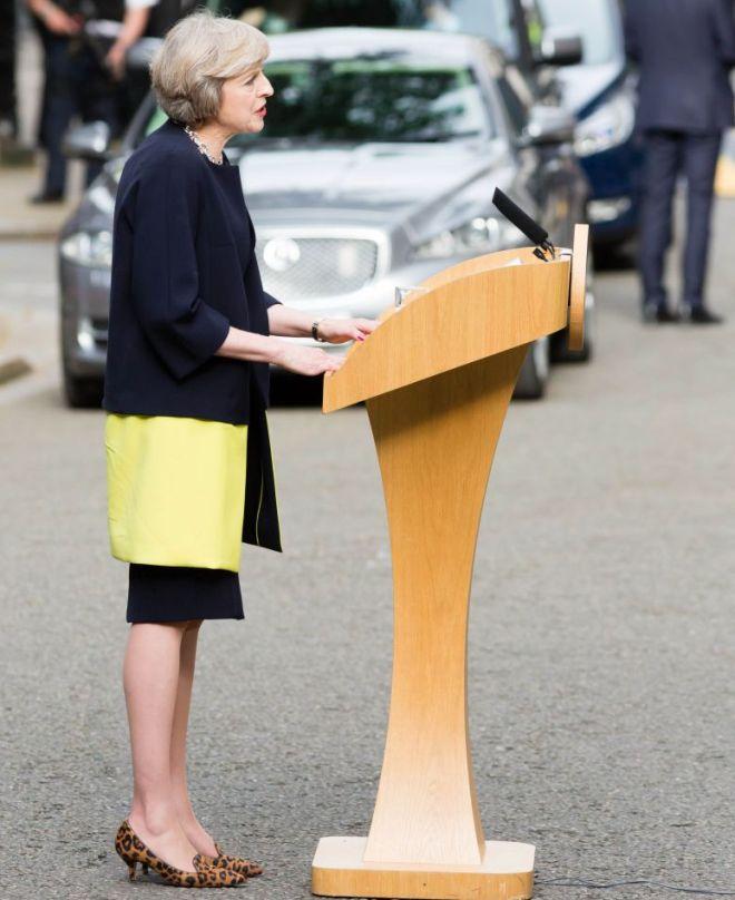 Премьер-министр Великобритании появится на обложке американского Vogue